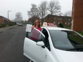Well done congratulations on passing your driving test