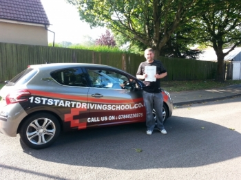 Congratulations on passing your driving test...