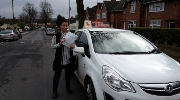 Well done passing your driving test