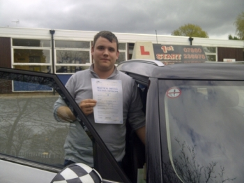 Well done Dan 1st time 3 minor faults...