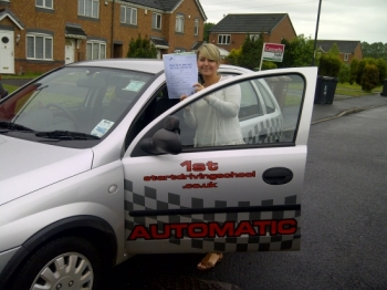 511 Well done passing your driving test