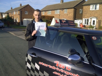Well done on passing your driving test with 3 minor faults