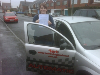 Well done you passed your driving test...