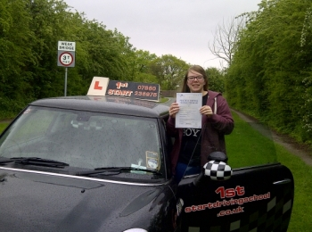Congratulations you passed 3 minor faults well done