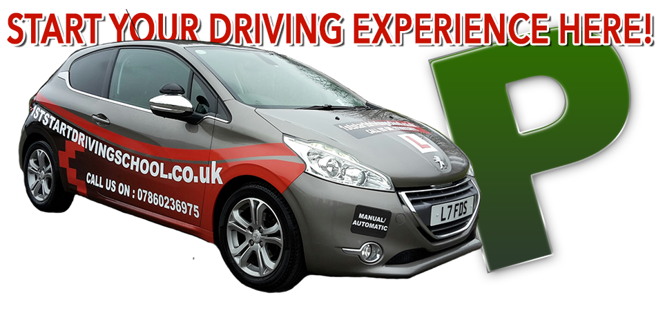 Driving lessons with 1st Start Driving School